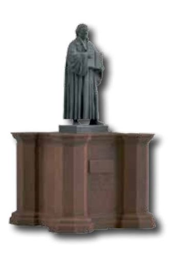 Vollmer 48285 Martin Luther Statue